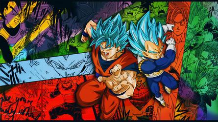 Wallpaper Goku and Vegeta