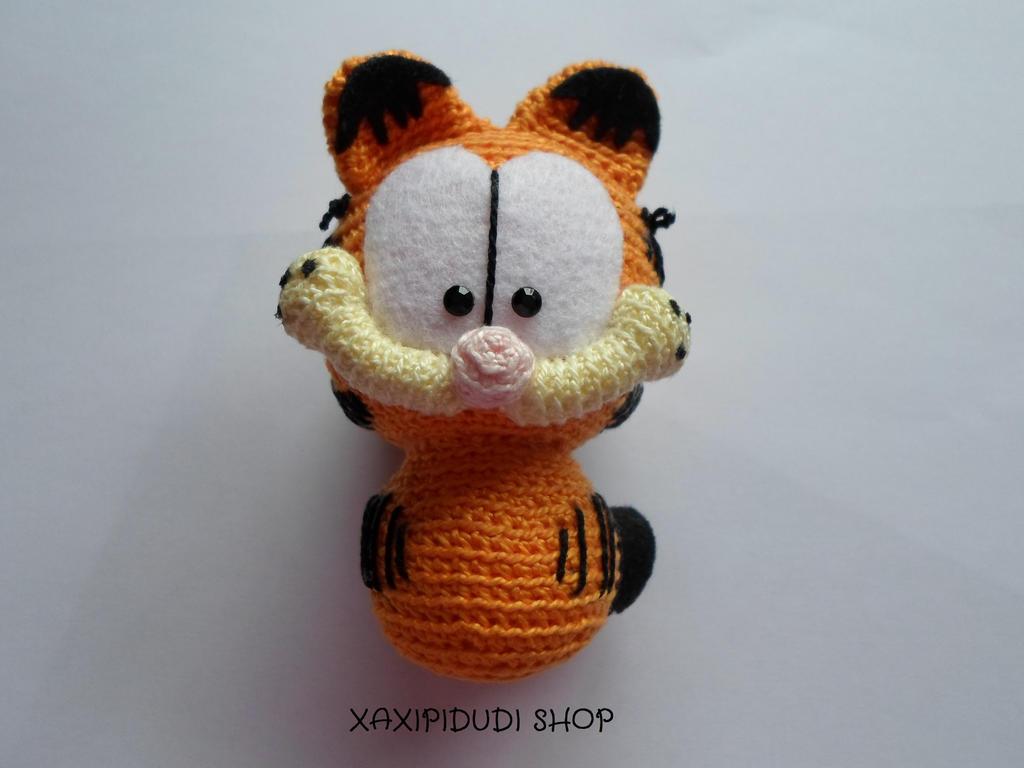 Llavero Amigurumi Garfield by Xaxipidudi on DeviantArt