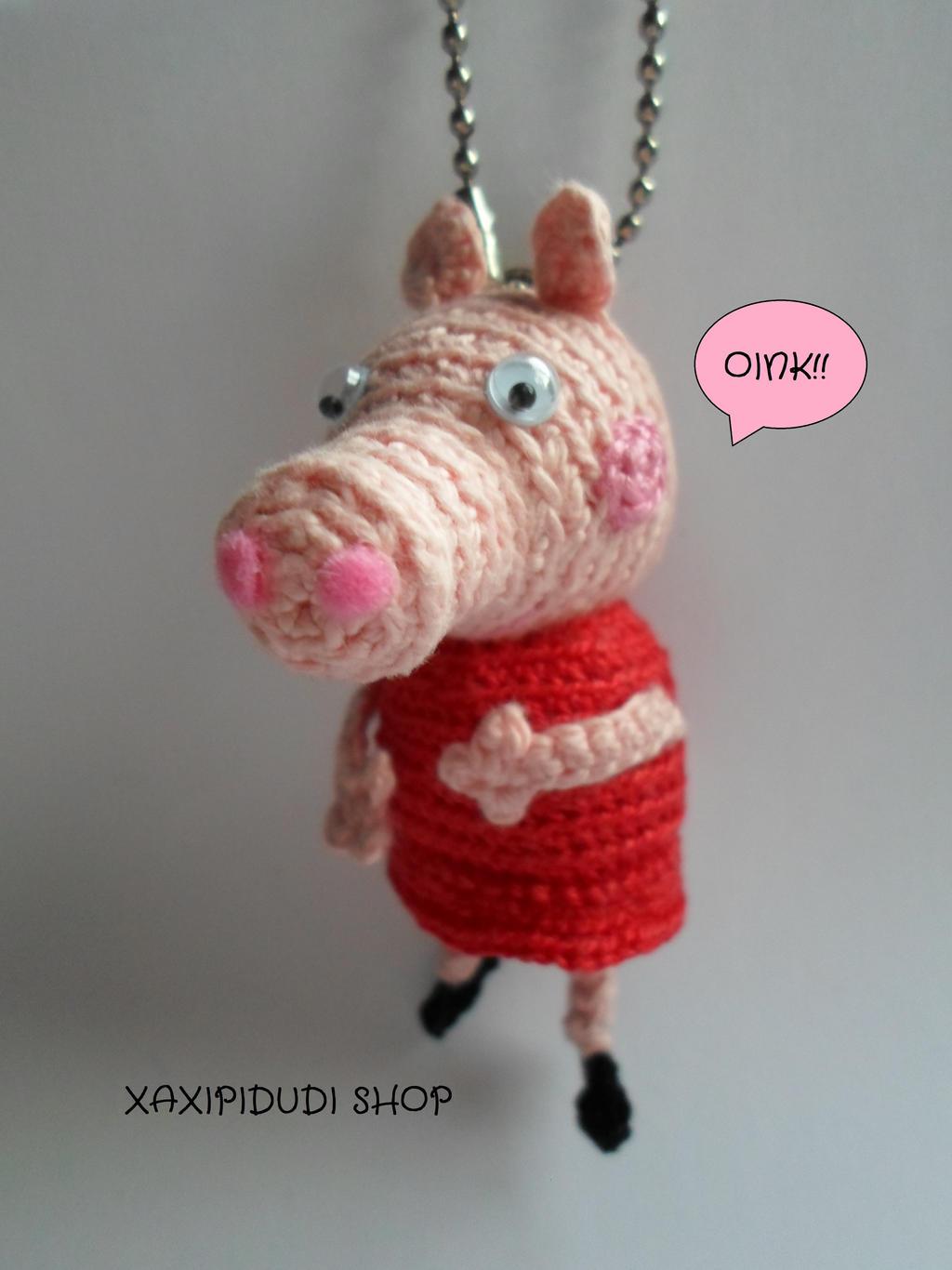 Peppa Pig Crochet Pattern Amigurumi Pig Amigurumi Peppa Pig   Etsy   1366x1024