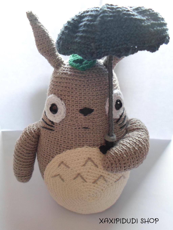 Amigurumi Totoro Ohje : Amigurumi Totoro by Xaxipidudi on DeviantArt