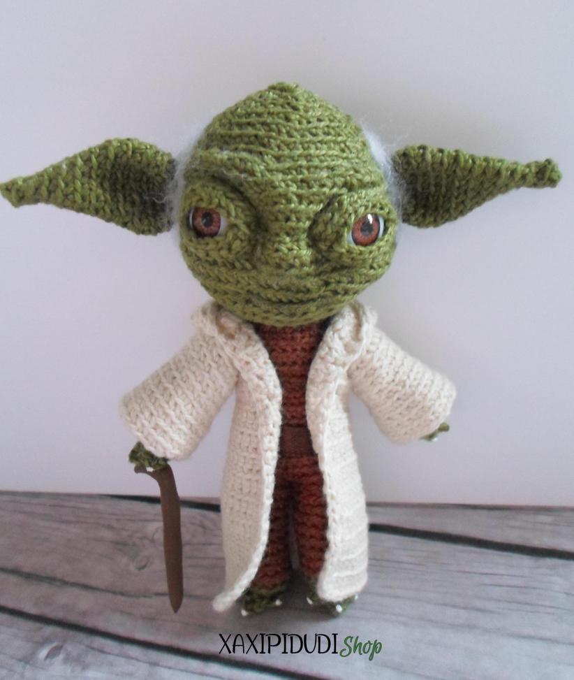 Amigurumi Maestro Yoda : Amigurumi Yoda by Xaxipidudi on DeviantArt