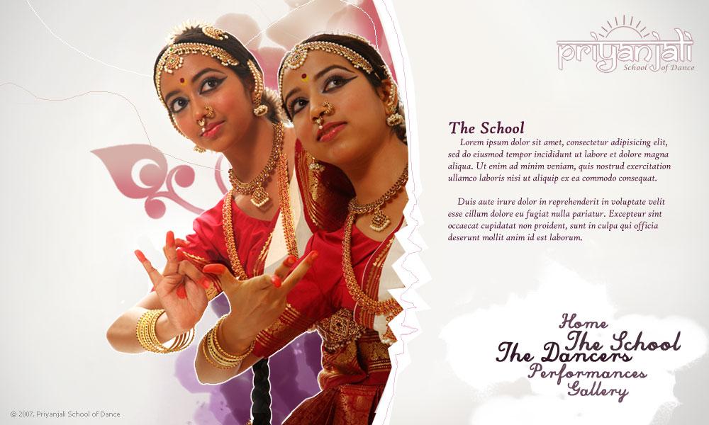 Indian School Logo Indian Dance School 2 by