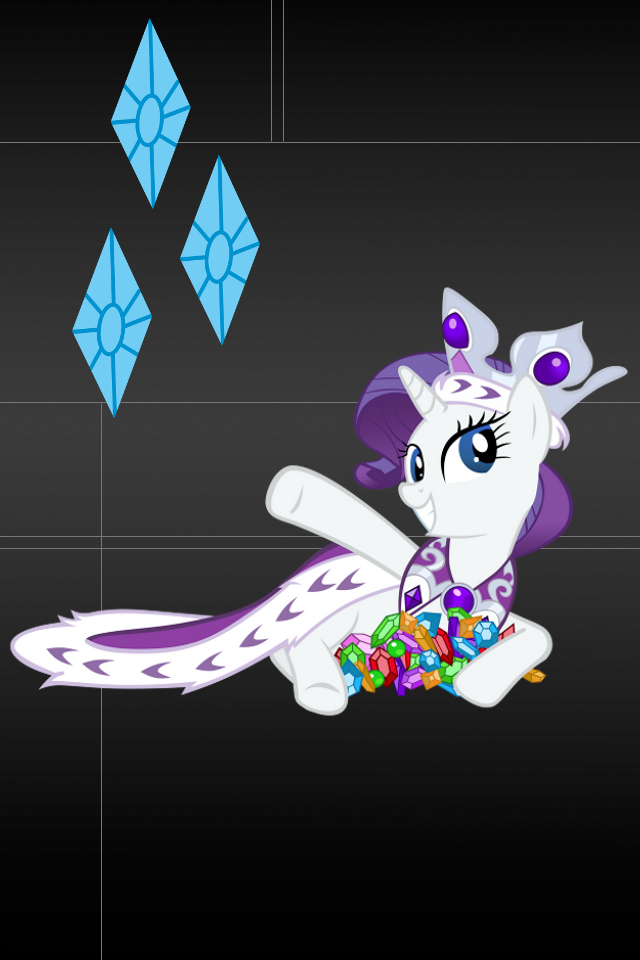 Rarity Wallpaper for iPod touch and iPhone 2 by RainbowTrixieRarity Wallpaper Iphone