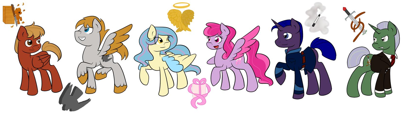 Weather Ponies Pt. 1 by Fairiegirl101