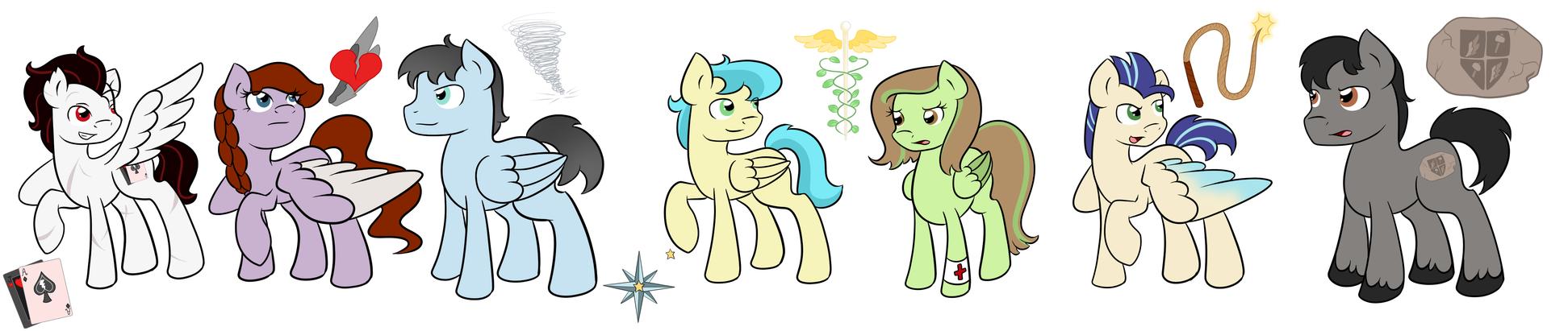 Weather Ponies Pt. 2 by Fairiegirl101