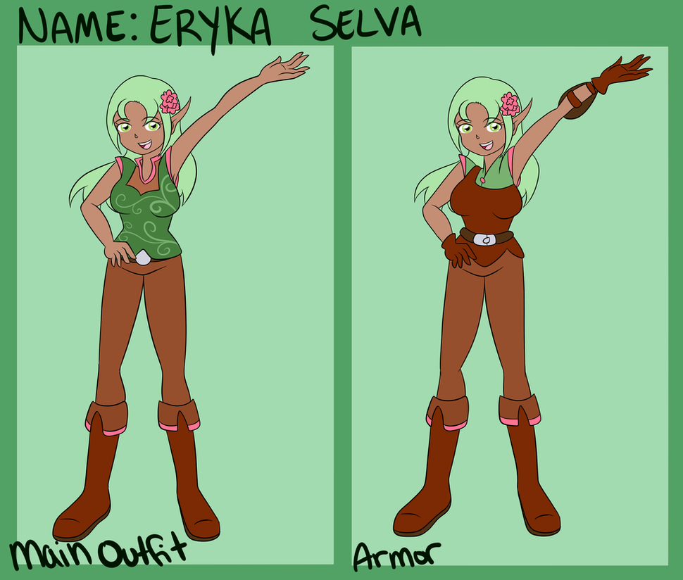 Eryka Selva- Full Reference by Fairiegirl101