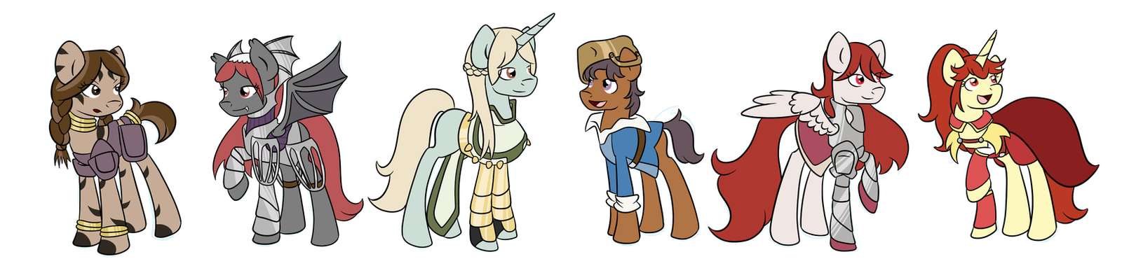 FE:A Ponies- Others by Fairiegirl101