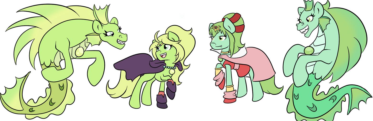 FE:A Ponies- Manaketes by Fairiegirl101 on DeviantArt