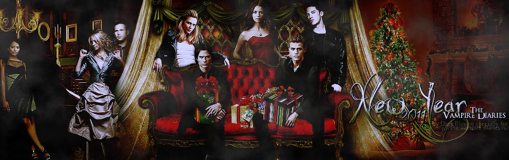 Vampire Diaries Christmas logo by Juli-BadVampire on DeviantArt