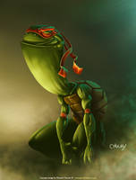 TMNT - Raphael by fubango