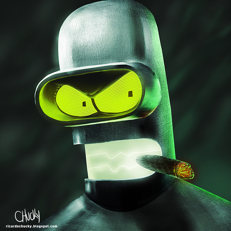 B for Bender by fubango on DeviantArt