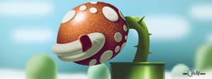 Super Mario world Flytrap