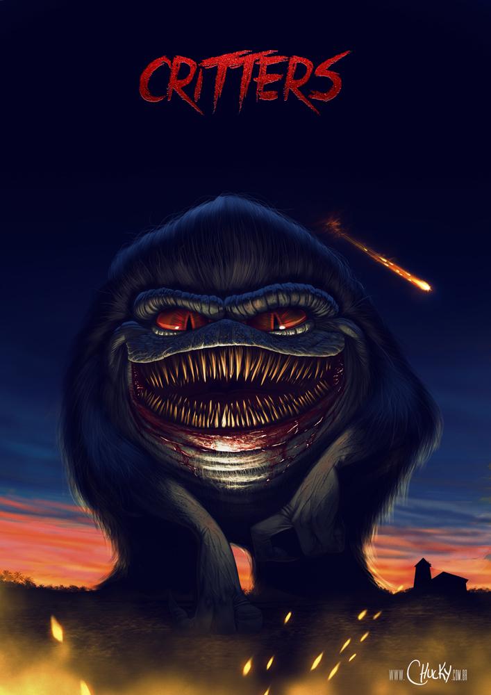 80s horror movie wallpaper