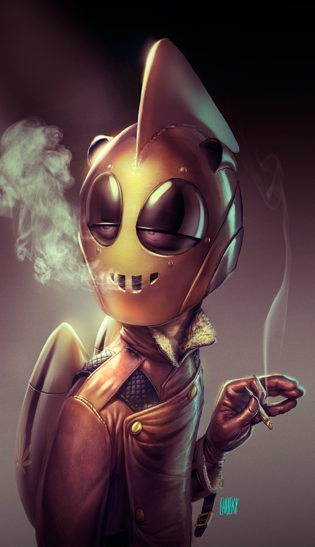 Rocketeer by fubango