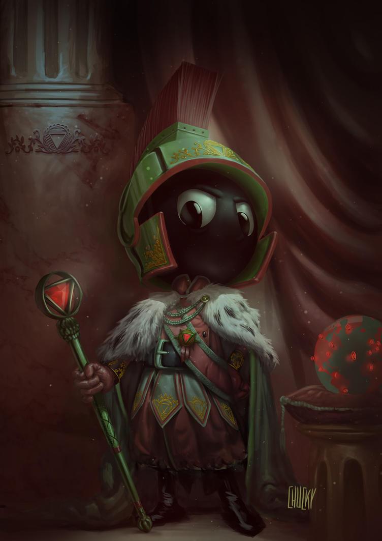 Martian Emperor by fubango