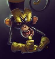 Monkey by fubango