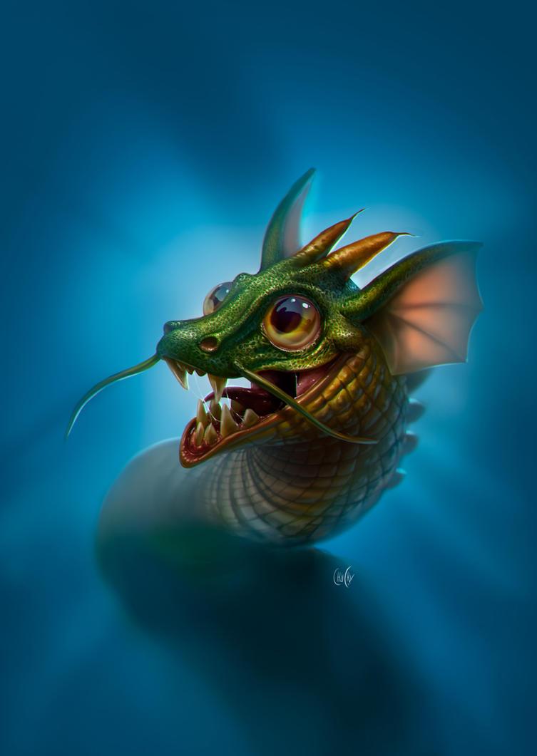 Dragon by fubango