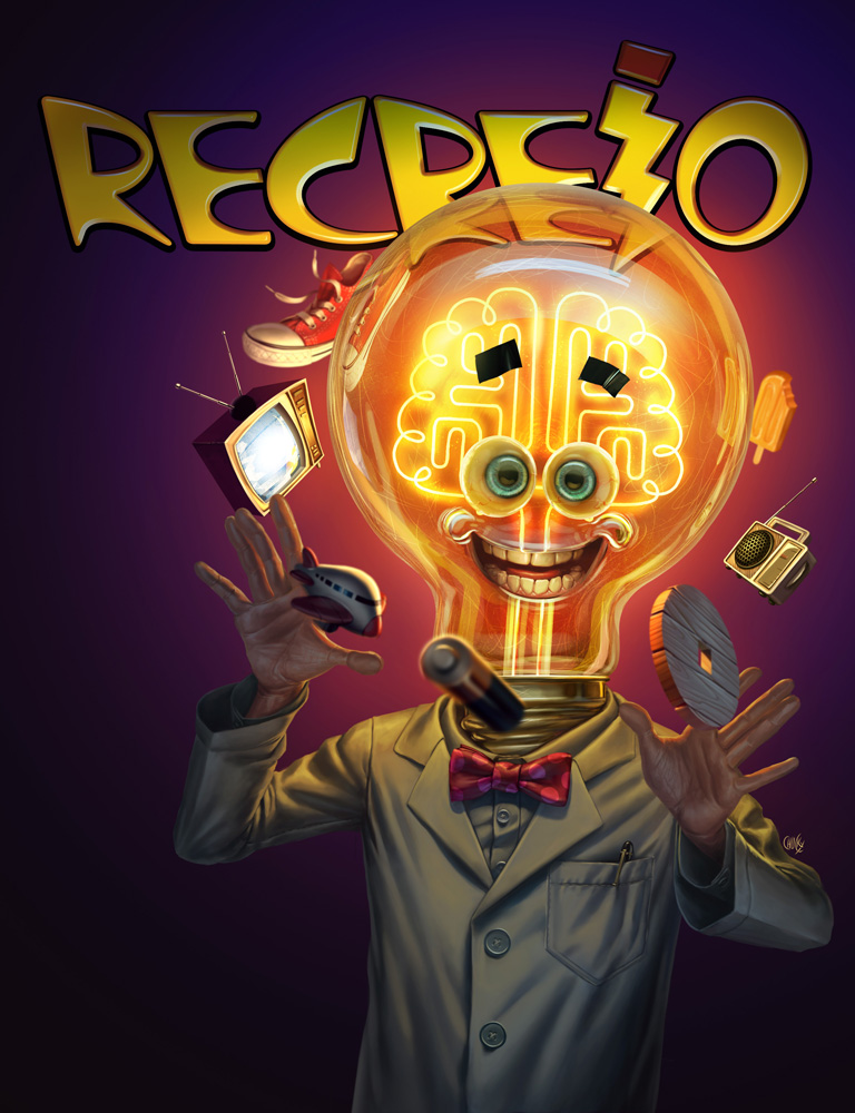 Inventions - Recreio Magazine Cover by fubango