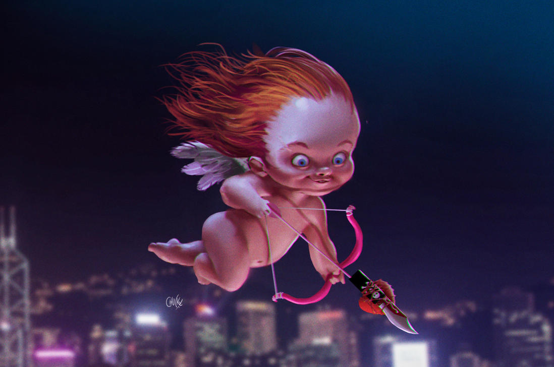 Killer Cupid by fubango