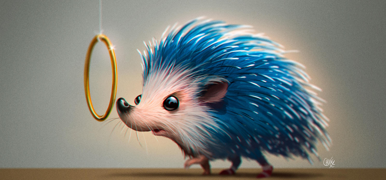 Sonic hedgehog by fubango