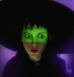 Strange and unusual Lydia Deetz