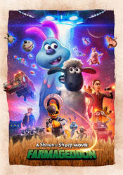 Shaun The Sheep Movie: Farmageddon - poster