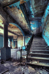 two stairways. 1 by Tommy-Noker