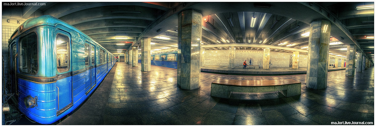 Subway 180 vision by Tommy-Noker