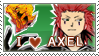 I :HEART: AXEL STAMP by Aquawater