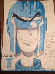 The Blue Dwarf Portrait