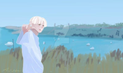 Blonde jungkook  by lalawl