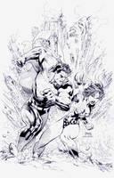 Superman 211: Jim Lee by boysicat