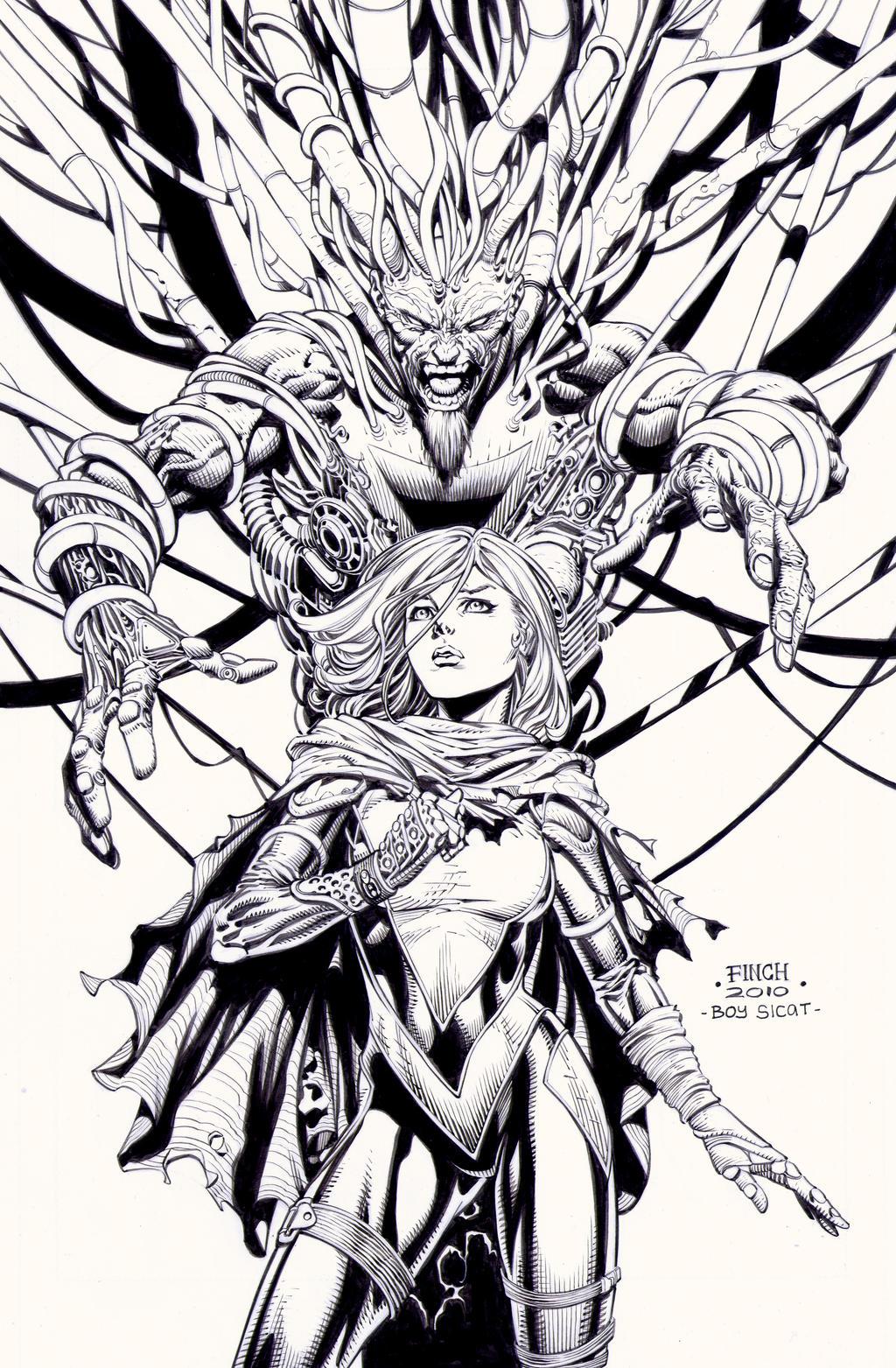 X-Force 26: David Finch by boysicat on DeviantArt