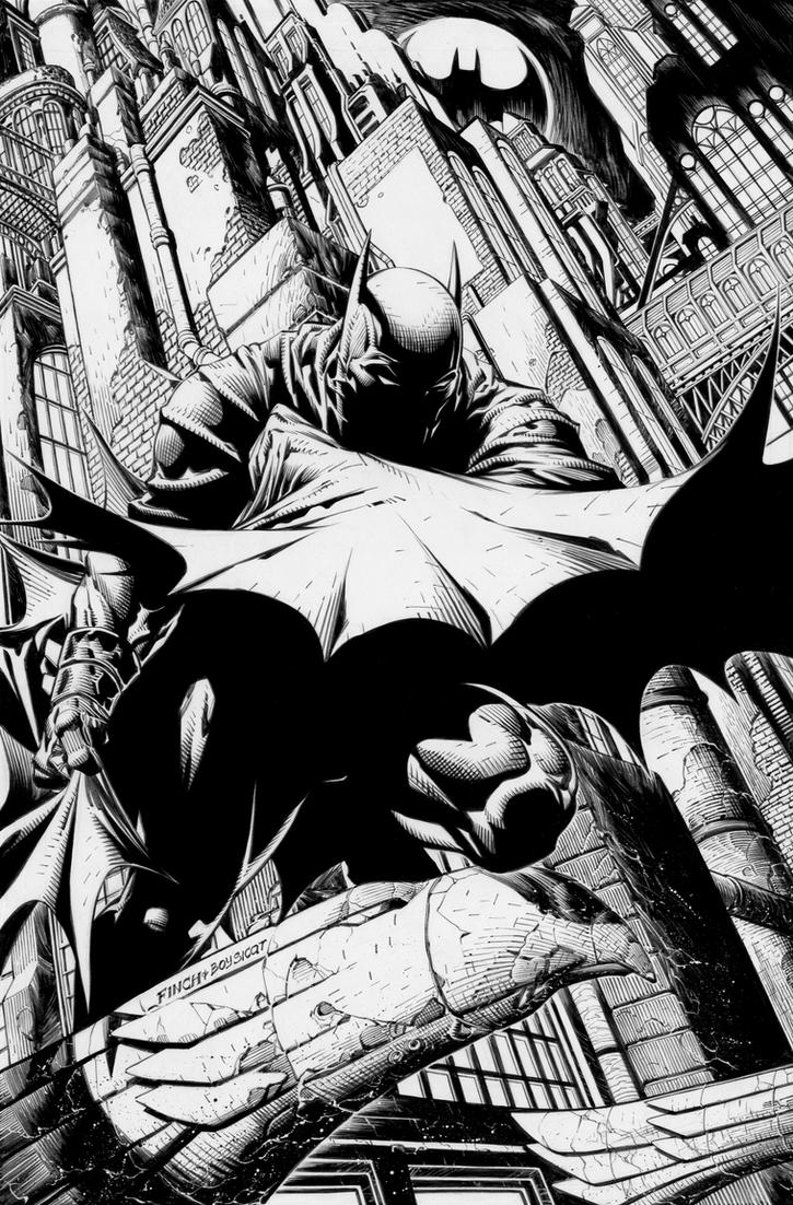 Batman 700: David Finch by boysicat