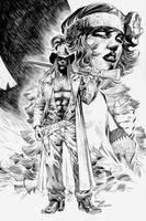 American Vampire: Jim Lee by boysicat