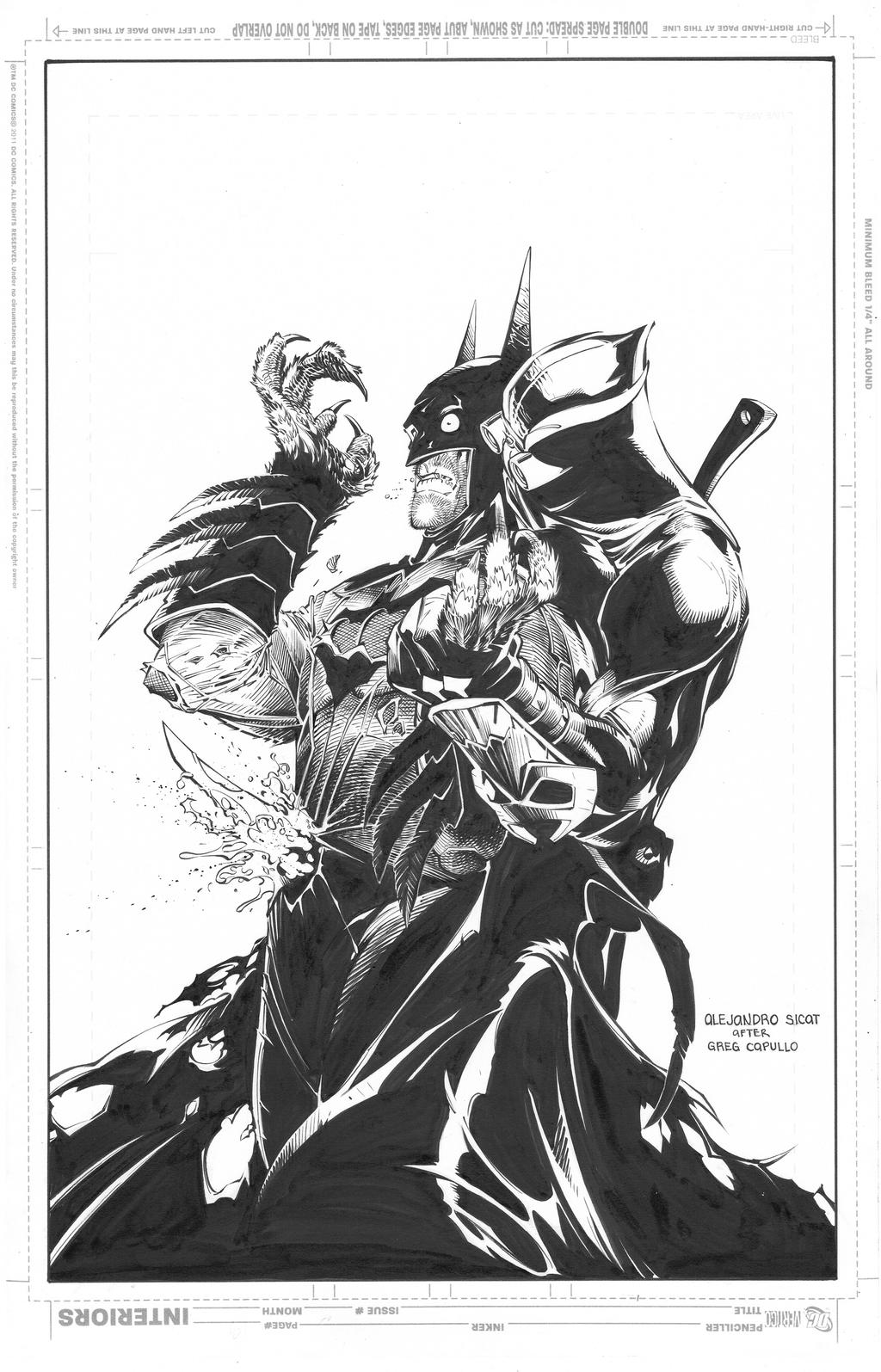 Batman: Greg Capullo by boysicat