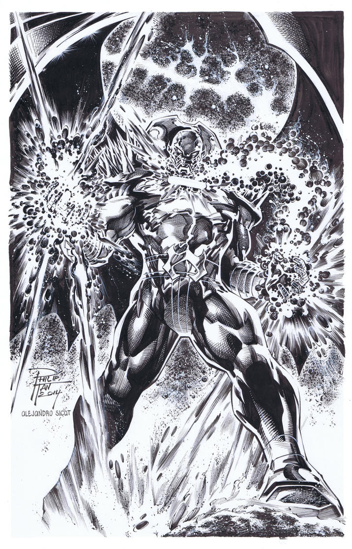 Philip Tan: Annihilus by boysicat