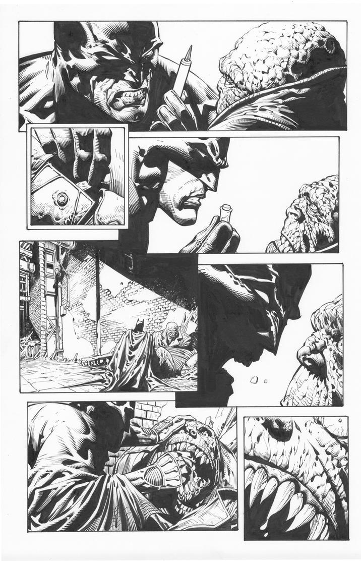 David Fich: Dark Knight test page by boysicat