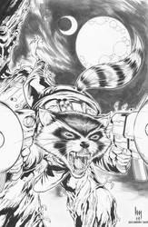 Rocket Raccoon: Hubert Michael khan