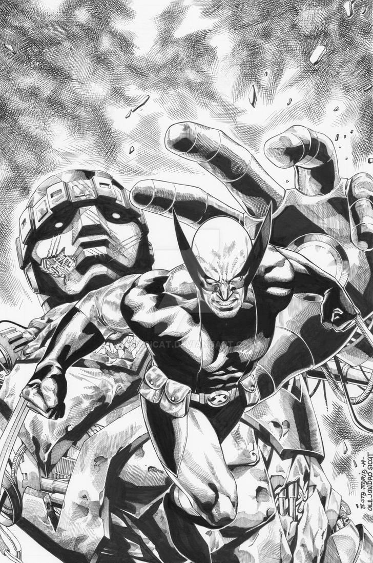 Wolverine: Michael Sta. Maria by boysicat