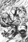 Philip Tan: Sabretooth INKS