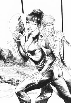 Modesty Blaise: Agent X Special Issue Cover