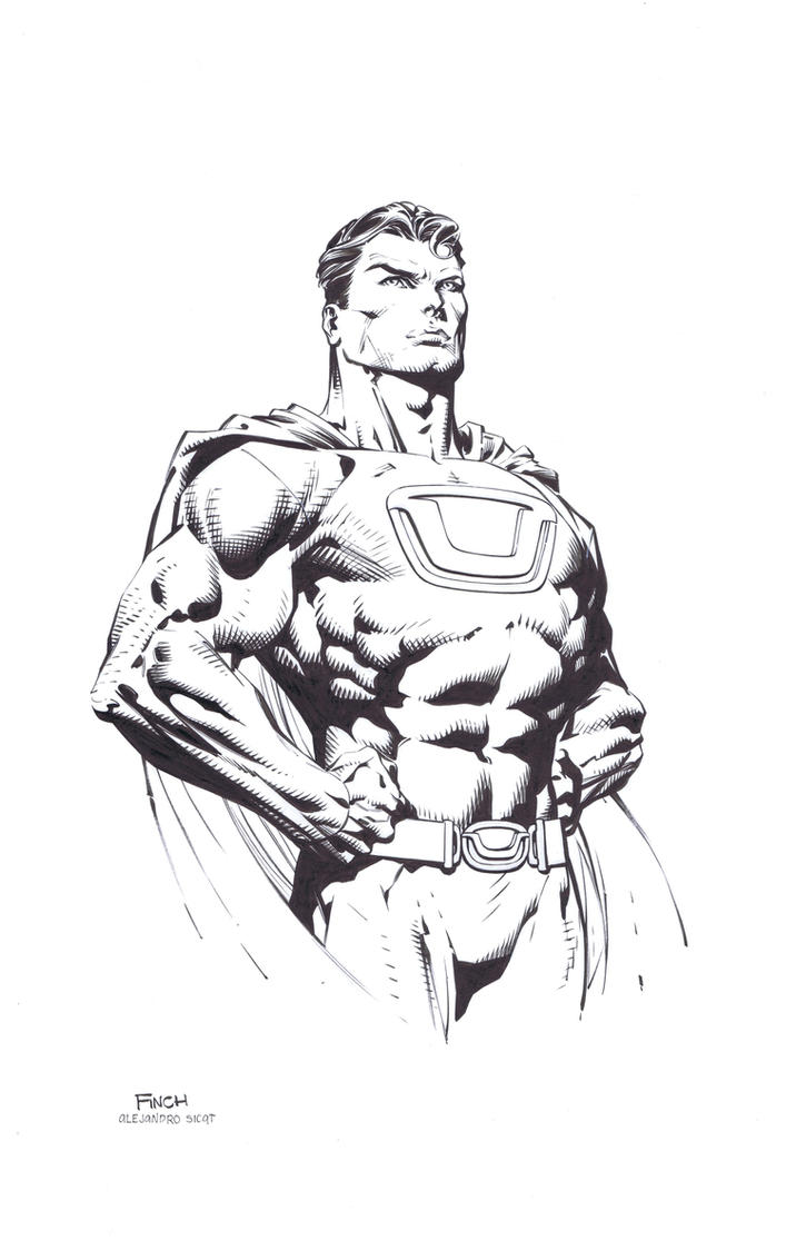 David Finch: Ultraman by boysicat