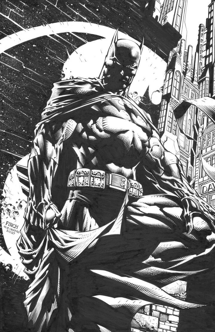 David Finch: Dark Knight Unwrapped by boysicat