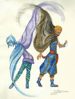 Fi and Impa by Miup