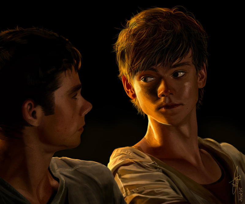 TMR - Thomas and Newt by Miup