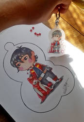 Keith keychain by Miup
