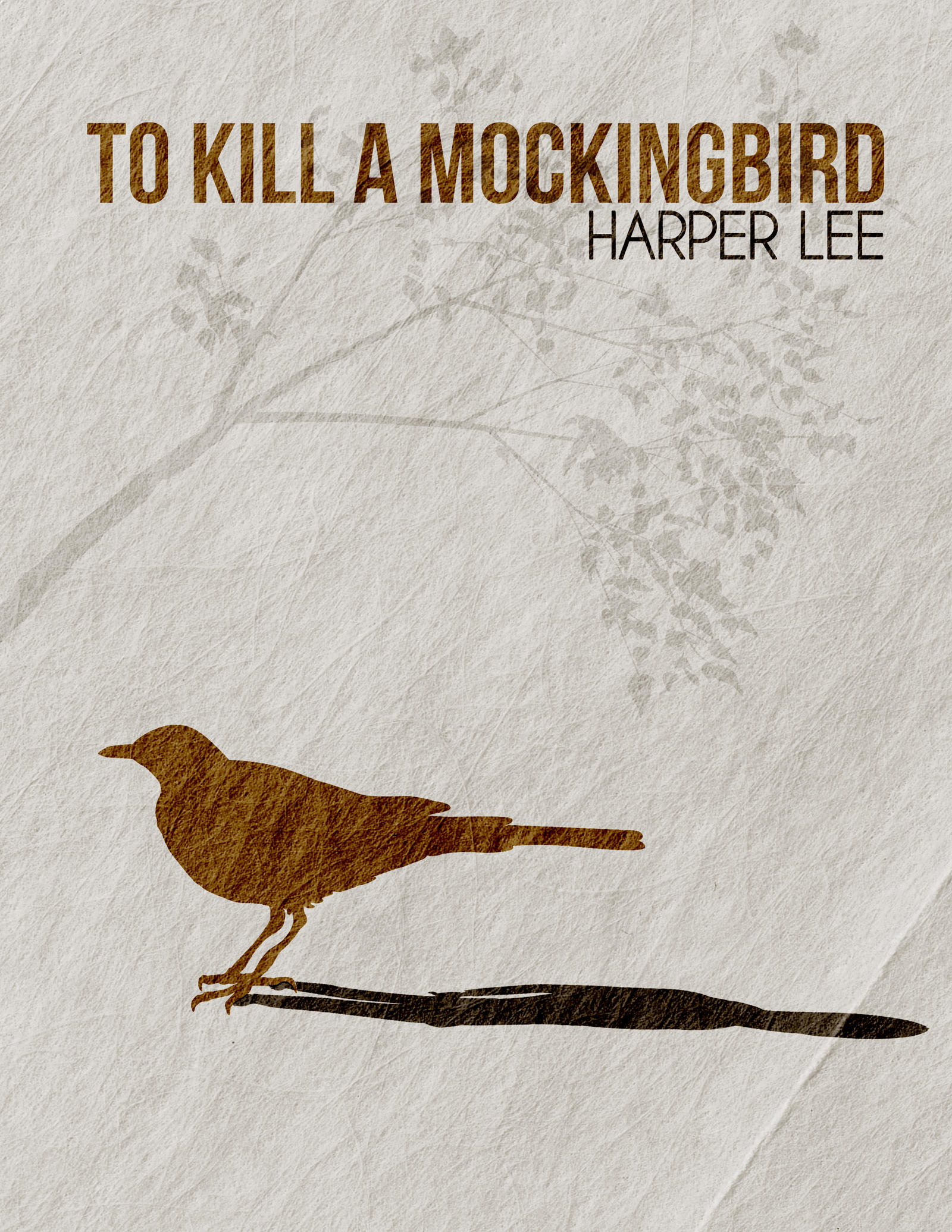 Minimalist Book Cover Quotes : The best quotes from popular novel to kill a
