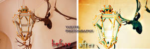 sample, my photo manipulation, before and after by Rosaliova
