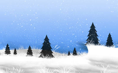 Winterly Wallpaper by sklare
